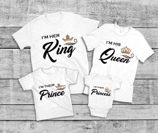 lot familial tee-shirts